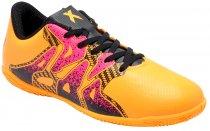 Imagem - Tênis Indoor Infantil Masculino Adidas X 15.4 S74605 Gold/Black - 019031400031547