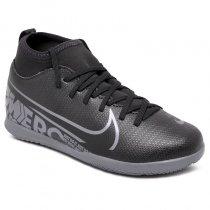 Imagem - Tênis Indoor Infantil Nike Superfly 7 Club AT8153-001 Preto/Cinza - 019031400951079