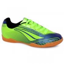 Imagem - Tênis Indoor Infantil Penalty Storm Speed VII Verde/Azul Marinho - 019031400521722