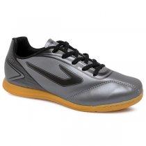 Imagem - Tênis Futsal Infantil Topper Cup 420134 Chumbo/Preto - 019031400731435