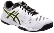 Imagem - Tênis Indoor Masculino Asics Gel-Dedicate 4a White/Black/Yellow - 001033400011845