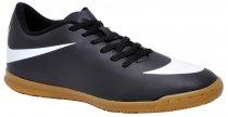 Imagem - Tênis Futsal Nike Bravata 768924-011 Black/White - 019043400391081