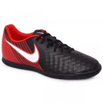 Imagem - Tênis Indoor Nike Magistax Ola 2 844409-061 Preto/Branco/Vermelho - 019043400761326