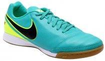 Imagem - Tênis Indoor Masculino Nike Tiempo Genio Ii 819215-307 Jade - 019043400011519