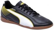 Imagem - Tênis Indoor Masculino Puma ESQUADRA 103128-03 Black/White - 019001200450004
