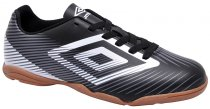 Imagem - Tênis Indoor Masculino Umbro Speed 2 Preto-Branco-Chumbo - 019043400201149