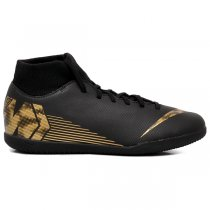 Imagem - Tênis Futsal Nike Superfly 6 Club AH7371-077 Preto/Dourado - 019043401181546