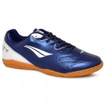 Imagem - Tênis Futsal Penalty Matis VIII 1241316500 Azul/Branco - 019043401051102
