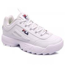 Imagem - Tênis Infantil Dad Sneaker Fila Disruptor 909352 Branco - 001054300070005