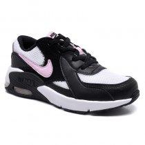 Imagem - Tênis Infantil Nike Air Max Excee CD6892-004 Preto/Branco/Rosa - 001054502741411