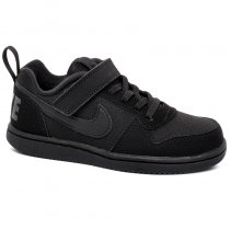 Imagem - Tênis Infantil Nike Court Borough Low 870025-001 Preto - 001054202010001