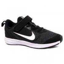 Imagem - Tênis Infantil Nike Downshifter 9 AR4138-002 Preto/Branco - 001054202351081