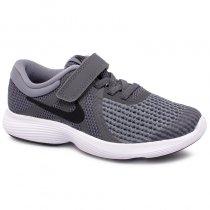Imagem - Tênis Infantil Nike Revolution 4 943305-005 Cinza/Preto - 001054202191232