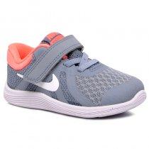 Imagem - Tênis Infantil Nike Revolution 4 943308-404 Cinza/Rosa - 001054502131194