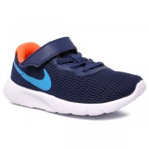 Imagem - Tênis Infantil Nike Tanjun 844868-017 Marinho/Azul/Laranja - 001054201662810