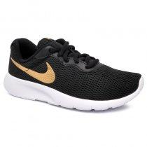 Imagem - Tênis Infantil Nike Tanjun GS 818381-027 Preto/Dourado - 001054202441546