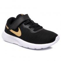 Imagem - Tênis Infantil Nike Tanjun PSV 844868-027 Preto/Dourado - 001054202451546