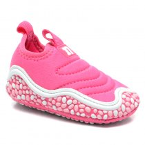 Imagem - Tênis Infantil Novopé Feminino Baby 262 Pink/Branco - 001054502821445