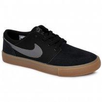 Tênis Infantil Unisex Nike Sb Portmore Ii 905208-001 Preto/Cinza