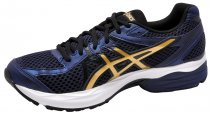 Tênis Masculino Asics Gel-Flux 3 Navy/Gold/Black