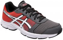 Imagem - Tênis Masculino Asics Patriot 8a Charcoal/White/Red - 001003400211674