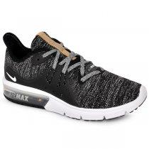 Imagem - Tênis Nike Air Max Sequent 3 908993-011 Preto/Branco/Cinza - 001003300991052