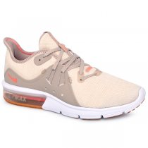 ba07a6c006098 Tênis Nike Air Max Sequent3 Su Ao2675-200 Bege/Branco