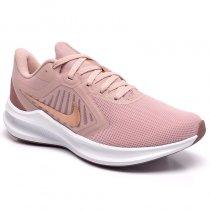 Imagem - Tênis Nike Downshifter 10 Feminino CI9984-200 Rose/Dourado - 001003302452801