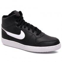 Imagem - Tenis Nike Ebernon Mid AQ1773-002 Preto/Branco - 001059401361081