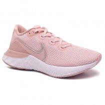 Imagem - Tênis Nike Renew Run Feminino CK6360-600 Rose/Branco