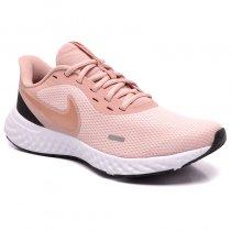 Imagem - Tênis Nike Revolution 5 Feminino BQ3207-600 Rose/Preto - 001003302432802