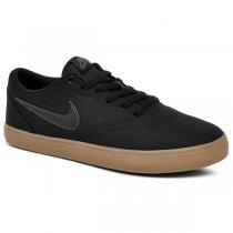 Imagem - Tênis Nike Sb Check Solar Cnvs 843896-009 Preto/Marrom - 001059401311496