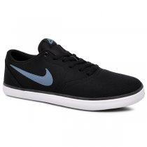 Imagem - Tênis Nike Sb Check Solar Cnvs 843896-017 Preto/Azul - 001059401301085