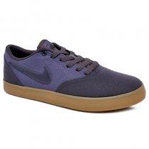 Imagem - Tênis Nike Sb Check Solar CNVS 843896-024 Azul Marinho/Azul - 001059400011612