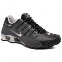 Imagem - Tênis Nike Shox Nzeu 501524-024 Preto/Cinza - 001059401391079