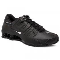 Imagem - Tênis Nike Shox Nzeu 501524-091 Couro Preto/Branco - 001059401261081