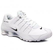 Imagem - Tênis Nike Shox Nzeu 501524-106 Branco/Preto - 001059401491086