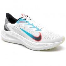 Imagem - Tênis Nike Zoom Winflo 7 Feminino CJ0302-102 Branco/Verde - 001003302511092