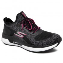 Imagem - Tênis Skechers Go Run Steady Swift GTW-16025 Chumbo/Preto/Rosa - 001003301962740
