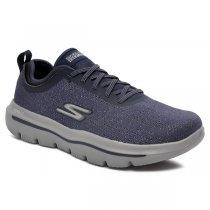 Imagem - Tênis Skechers Go Walk Evolution Ultra-Logic Azul/Cinza - 001003402631380