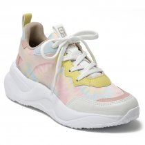 Imagem - Tênis Sneaker Tie Dye Via Marte 20-14907 Branco/Chantilly - 001005503832408