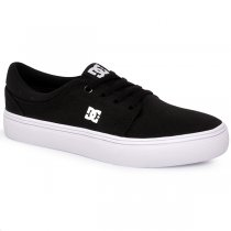 Imagem - Tênis Unisex Dc Shoes Trase Tx Adys300126p Preto/Branco - 001056800831081