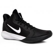 Imagem - Tênis/Bota Nike Precision 3 AQ7495-002 Preto/Branco - 038004400191081