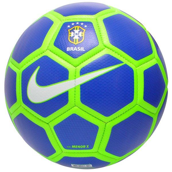faf3178a32 Bola Futsal Nike Menor X SC3524-405 Azul Marinho