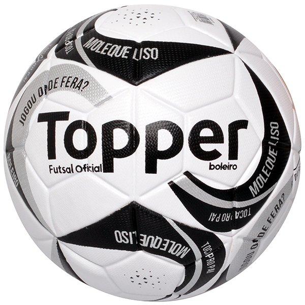 c595b2387b Bola Futsal Topper Boleiro 2 4201172 Branco Preto