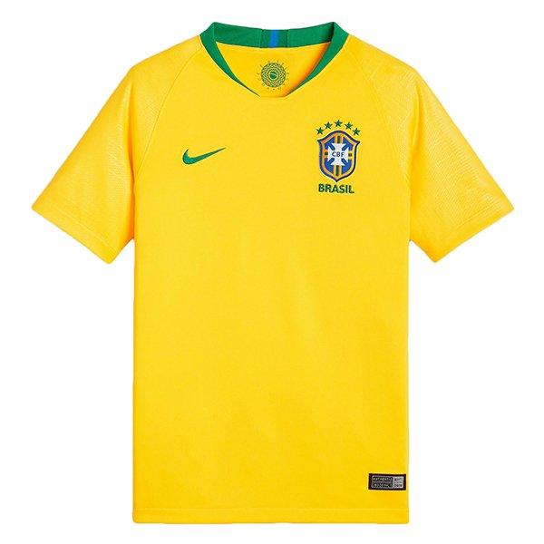 Camiseta Seleção Brasileira Infantil Nike Rep. Torcedor 1 893970-749 Amarelo eeb5d709e0990