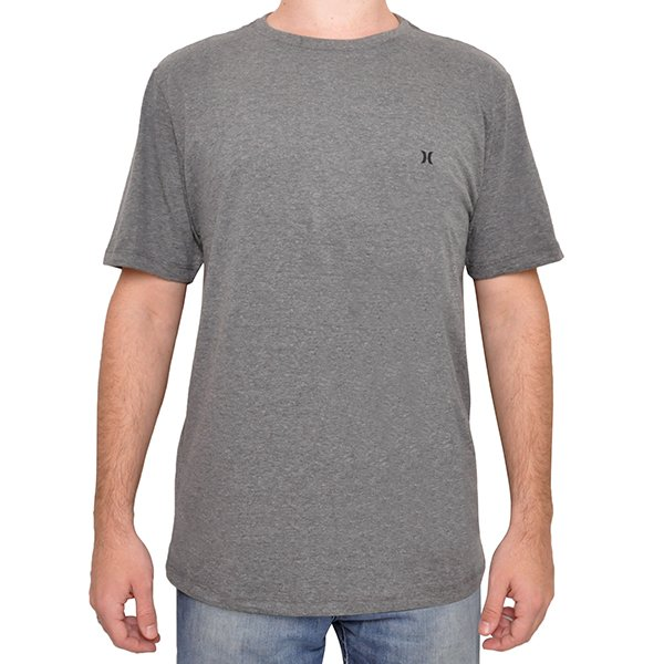 1949760e75 Camiseta Hurley 637059l66 Mescla Claro