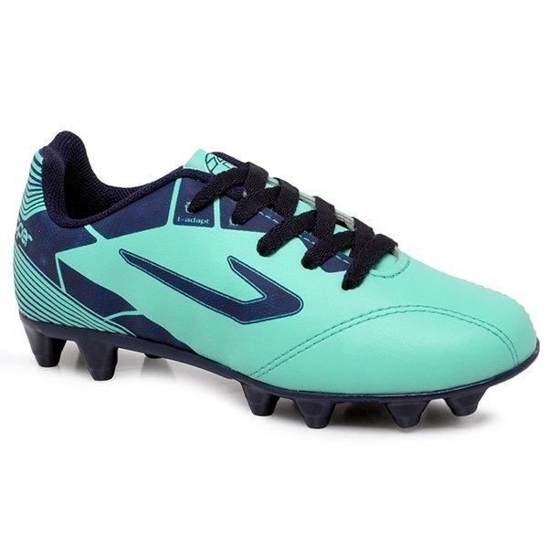 bf385d6a45c Chuteira Campo Infantil Topper Cup 2 4203533 Verde Azul Marinho