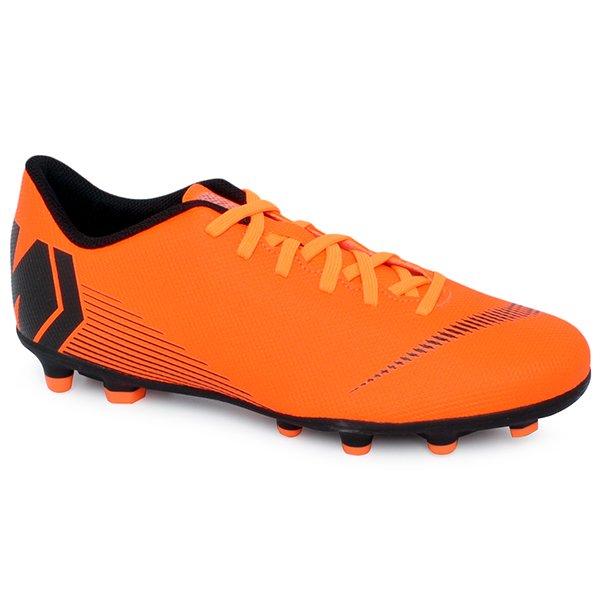 81616eb510eee Chuteira Campo Nike Mercurial Vapor 12 Club AH7378-810 Laranja