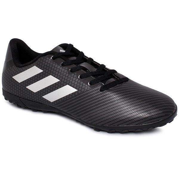 3ffe65efcd Chuteira Society Adidas Artilheira 2 H68438 Preto Cinza